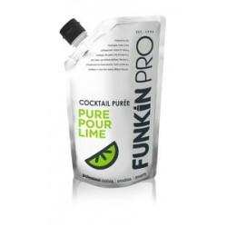 Purée de citron vert Funkin - Pack de 5 x 1 L